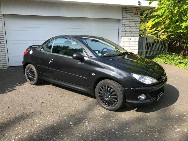 verkauft peugeot 206 cc hdi cabrio eur gebraucht 2006 km in hannover. Black Bedroom Furniture Sets. Home Design Ideas