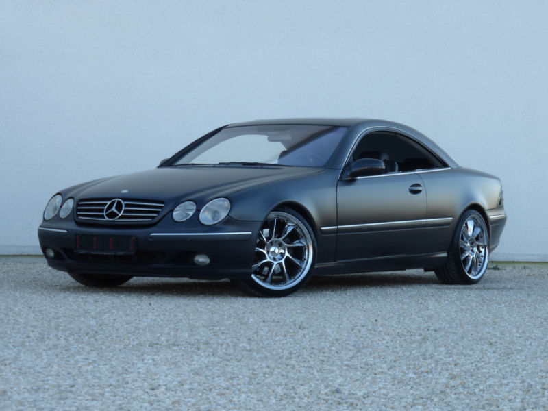 verkauft mercedes cl500 gebraucht 2000 km in hannover. Black Bedroom Furniture Sets. Home Design Ideas