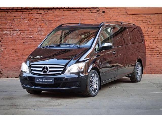 verkauft mercedes viano 3 5 v6 luxus u gebraucht 2013 km in hamburg. Black Bedroom Furniture Sets. Home Design Ideas