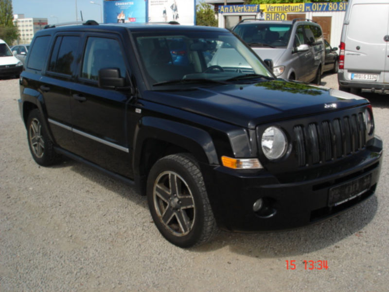 verkauft jeep patriot 2 4 cvt limited gebraucht 2008 km in rostock. Black Bedroom Furniture Sets. Home Design Ideas