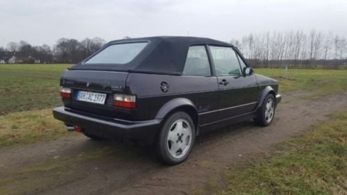 verkauft vw golf cabriolet acapulco gebraucht 1993 km in m nchen. Black Bedroom Furniture Sets. Home Design Ideas