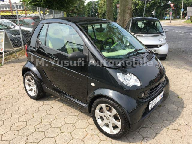 verkauft smart fortwo cabrio 450 82ps gebraucht 2005 km in reken. Black Bedroom Furniture Sets. Home Design Ideas