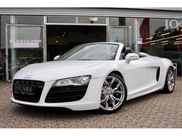 verkauft audi r8 spyder 5 2 fsi quattr gebraucht 2010 km in kamp lintfort. Black Bedroom Furniture Sets. Home Design Ideas