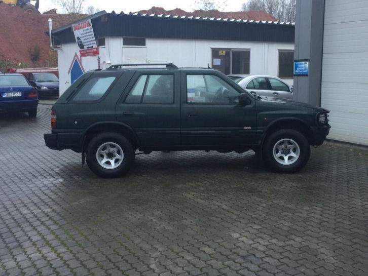 verkauft opel frontera 2 5 tds san die gebraucht 1997 km in rodgau. Black Bedroom Furniture Sets. Home Design Ideas