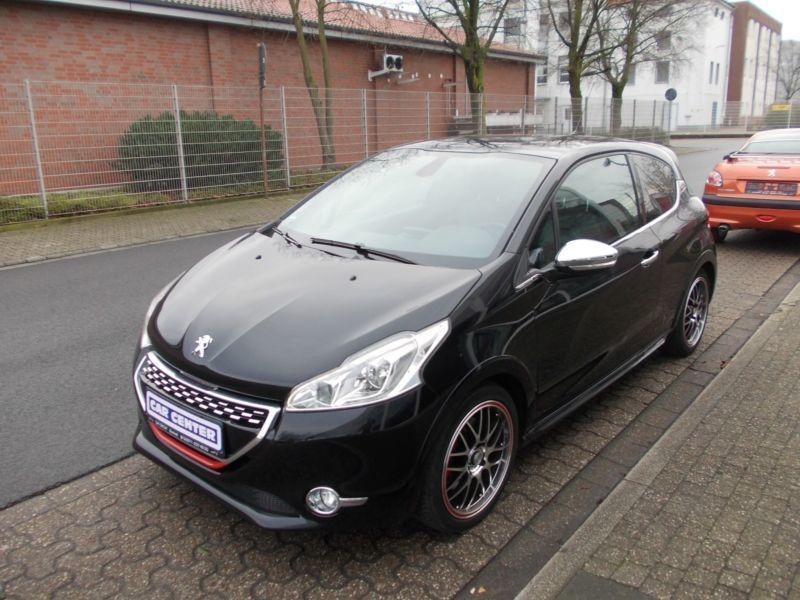 verkauft peugeot 208 gti leder navi kl gebraucht 2013 km in bocholt. Black Bedroom Furniture Sets. Home Design Ideas