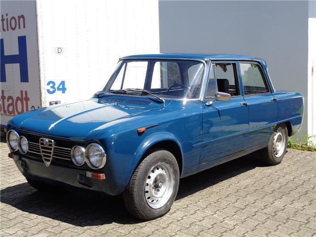 verkauft alfa romeo giulia 1600 ti bj gebraucht 1964. Black Bedroom Furniture Sets. Home Design Ideas