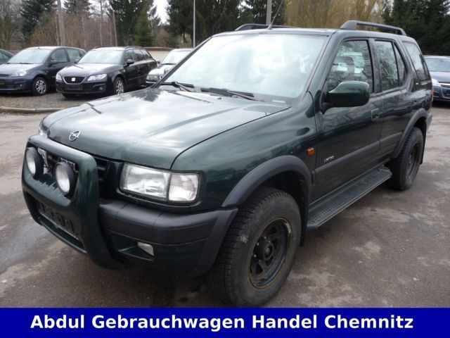 verkauft opel frontera b limited gebraucht 1999 km in chemnitz. Black Bedroom Furniture Sets. Home Design Ideas