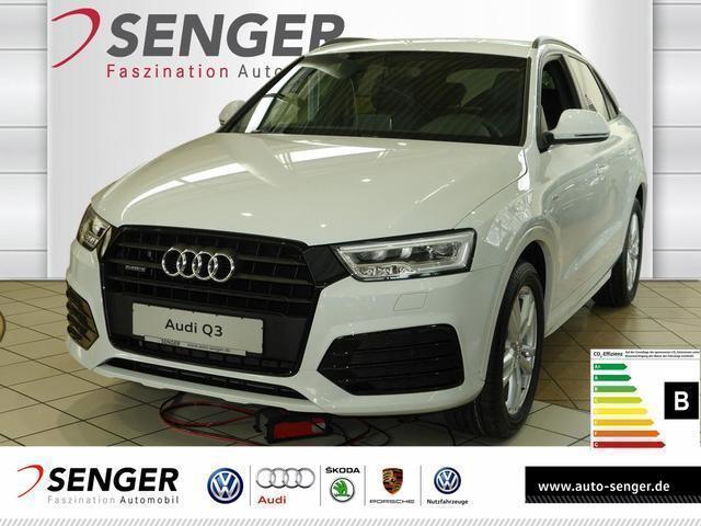 gebraucht Audi Q3 2.0 TDI quattro S line selection Navi Tempom.