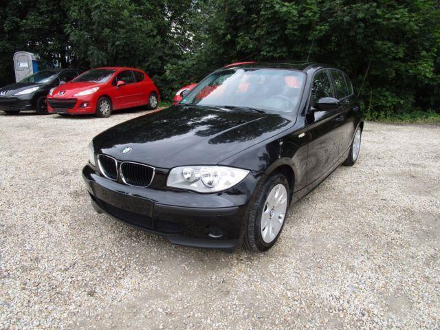 verkauft bmw 116 1er gebraucht 2005 km in stuttgart. Black Bedroom Furniture Sets. Home Design Ideas