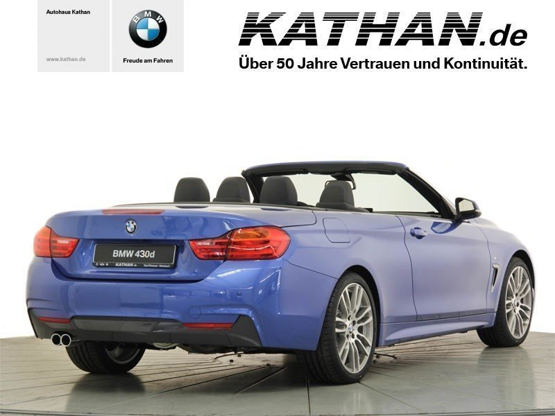 verkauft bmw 430 d cabrio gebraucht 2015 km in bad wiessee. Black Bedroom Furniture Sets. Home Design Ideas