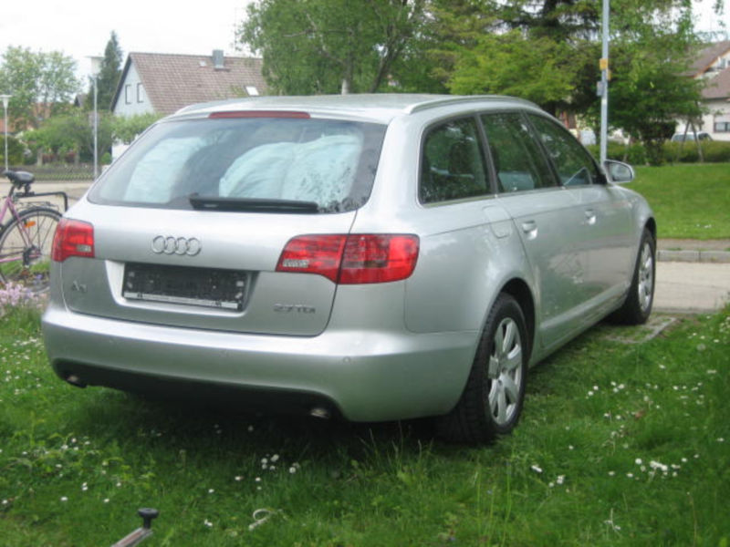 verkauft audi a6 avant 2 7 tdi dpf gebraucht 2006 km in stetten a k m. Black Bedroom Furniture Sets. Home Design Ideas