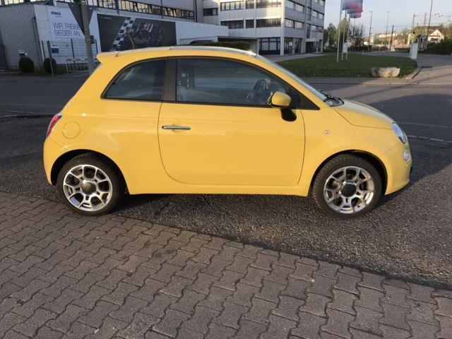 verkauft fiat 500 1 4 16v sport 100h gebraucht 2011 km in fellbach. Black Bedroom Furniture Sets. Home Design Ideas