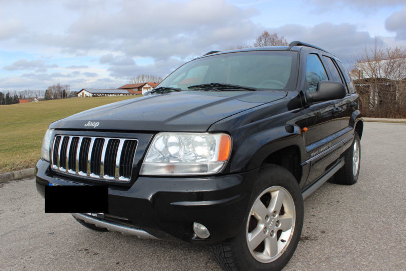 verkauft jeep grand cherokee 2 7 crd l gebraucht 2005 km in kempten. Black Bedroom Furniture Sets. Home Design Ideas