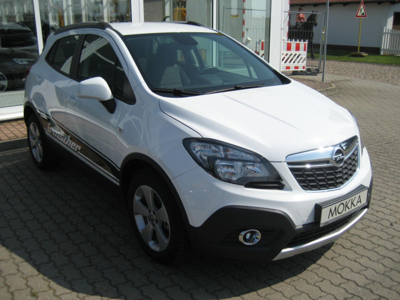 gebraucht edition 1 6 opel mokka 2014 km in salzatal ot schwi. Black Bedroom Furniture Sets. Home Design Ideas