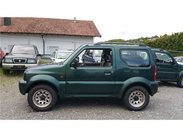verkauft suzuki jimny cross country gebraucht 1999 km in eisingen. Black Bedroom Furniture Sets. Home Design Ideas