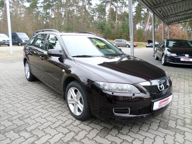 gebraucht sport kombi 2 0 aut exclusive mazda 6 2008 km in northeim. Black Bedroom Furniture Sets. Home Design Ideas