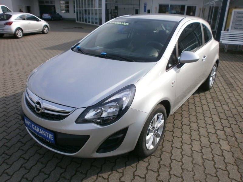 verkauft opel corsa 1 2 energy tempoma gebraucht 2014 km in calbe. Black Bedroom Furniture Sets. Home Design Ideas