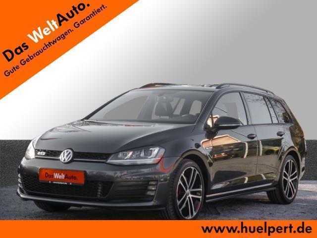 gebraucht VW Golf VII Golf VII Variant GTD DSG Xenon Navi Alu 18