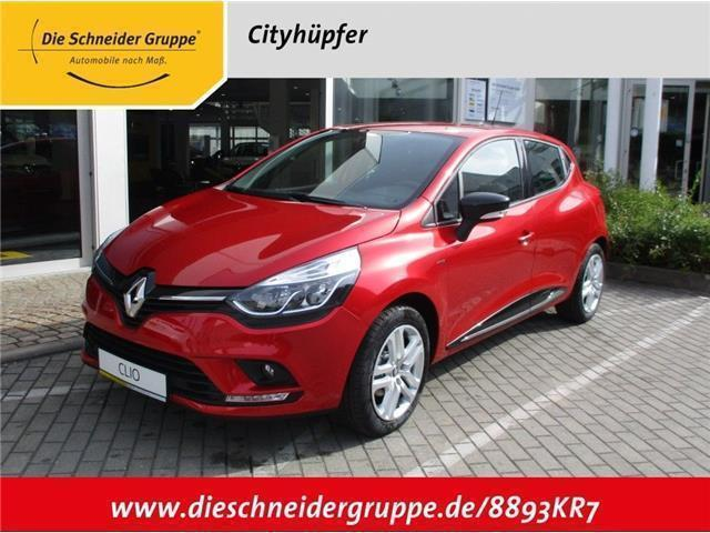 verkauft renault clio limited energy t gebraucht 2017 km in zwickau. Black Bedroom Furniture Sets. Home Design Ideas