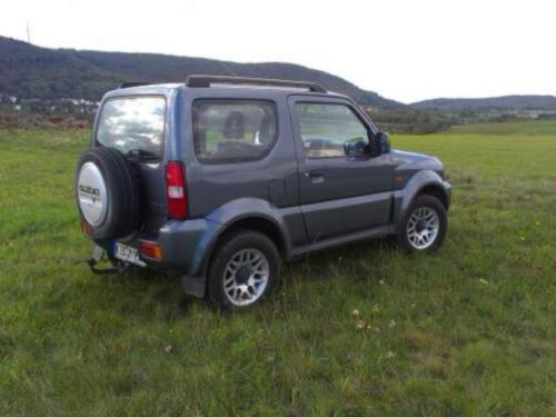 verkauft suzuki jimny comfort gebraucht 2007 km in ellerstadt. Black Bedroom Furniture Sets. Home Design Ideas