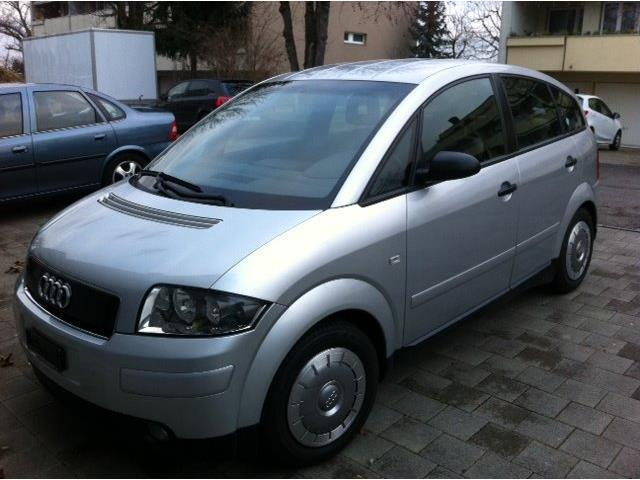 verkauft audi a2 1 2 tdi 3l d4 a gebraucht 2002 km in dortmund innensta. Black Bedroom Furniture Sets. Home Design Ideas