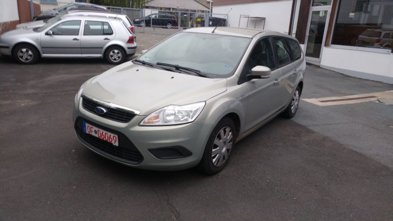 verkauft ford focus turnier 1 6 tdci d gebraucht 2009 km in dreieich. Black Bedroom Furniture Sets. Home Design Ideas