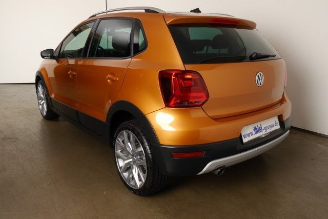 verkauft vw polo cross cross 1 2 tsi p gebraucht 2014. Black Bedroom Furniture Sets. Home Design Ideas