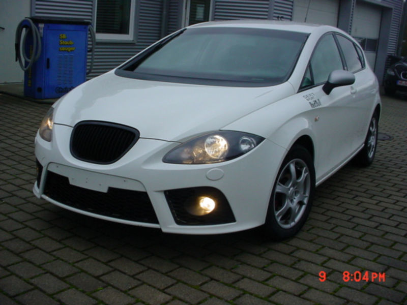 verkauft seat leon fr gebraucht 2008 km in homberg efze. Black Bedroom Furniture Sets. Home Design Ideas