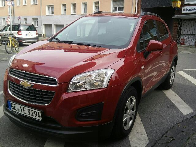 verkauft chevrolet trax 1 6 ls gebraucht 2014 km in gelsenkirchen. Black Bedroom Furniture Sets. Home Design Ideas