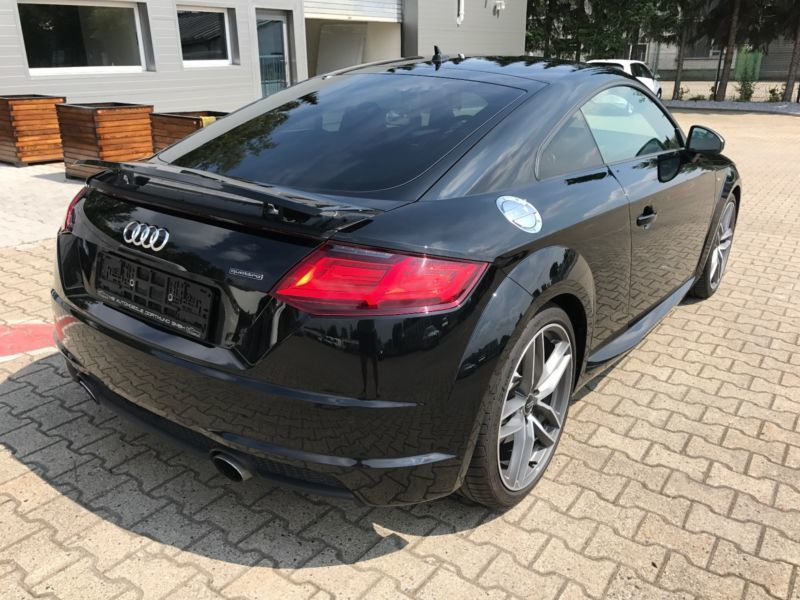 verkauft audi tt coupe 2 0 tfsi quattr gebraucht 2016. Black Bedroom Furniture Sets. Home Design Ideas