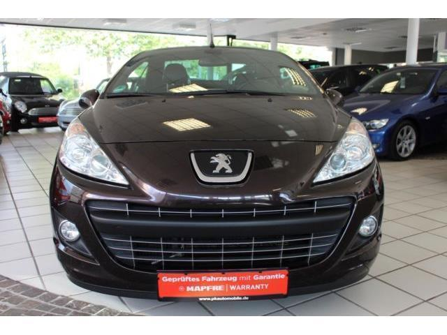 verkauft peugeot 207 cc allure gebraucht 2012 km in hilden. Black Bedroom Furniture Sets. Home Design Ideas
