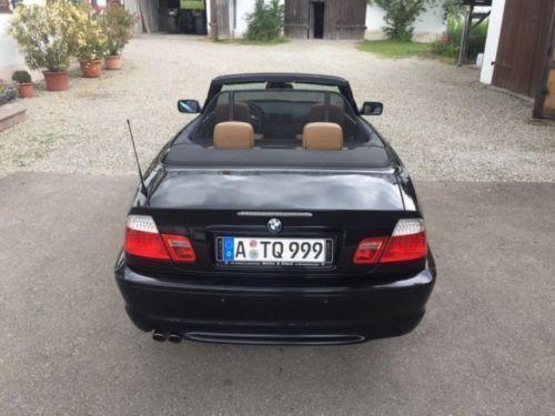 verkauft bmw 330 cabriolet gebraucht 2004 km in augsburg. Black Bedroom Furniture Sets. Home Design Ideas