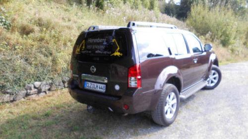 verkauft nissan pathfinder 2 5 dci xe gebraucht 2012 km in aachen. Black Bedroom Furniture Sets. Home Design Ideas