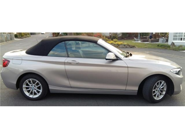 verkauft bmw 218 2er cabrio gebraucht 2015 km in donnersdorf. Black Bedroom Furniture Sets. Home Design Ideas