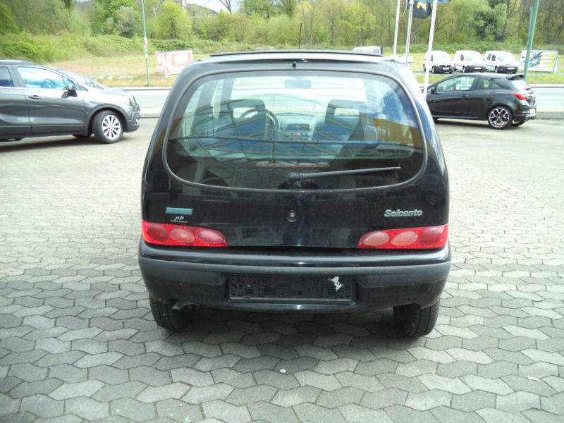 verkauft fiat cinquecento gebraucht 1999 km in bielefeld. Black Bedroom Furniture Sets. Home Design Ideas