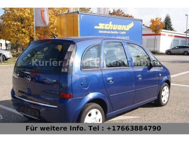 verkauft opel meriva 1 6 gebraucht 2007 km in oy mittelberg. Black Bedroom Furniture Sets. Home Design Ideas