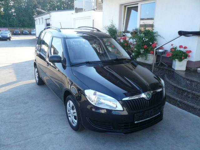 verkauft skoda roomster 1 4 mpi family gebraucht 2012 km in flu bach. Black Bedroom Furniture Sets. Home Design Ideas