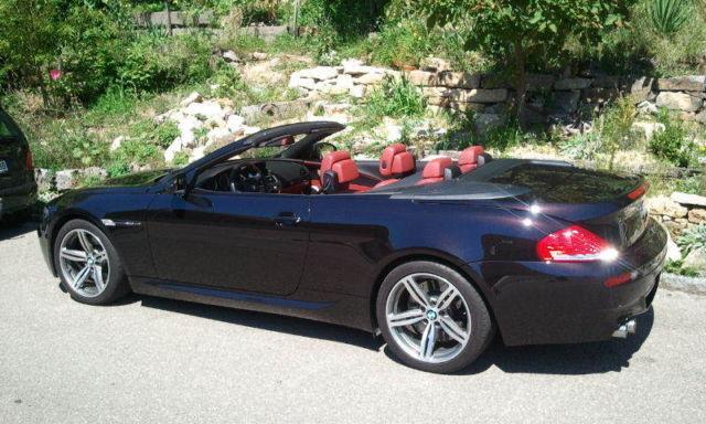 verkauft bmw m6 cabriolet rubinschwarz gebraucht 2010. Black Bedroom Furniture Sets. Home Design Ideas