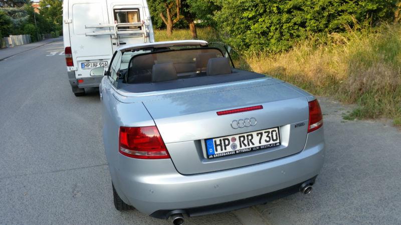verkauft audi a4 cabriolet 1 8 t gebraucht 2008 km in heppenheim. Black Bedroom Furniture Sets. Home Design Ideas
