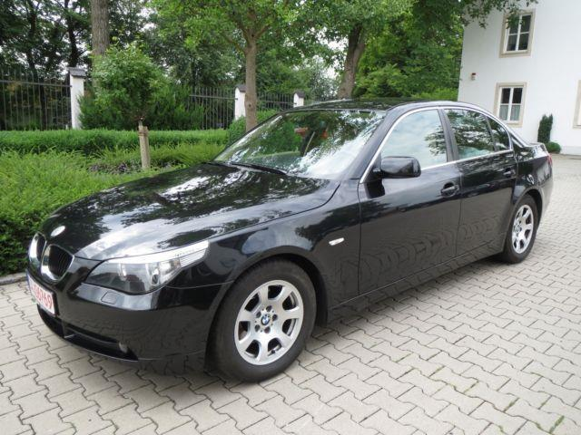 verkauft bmw 520 i 1 hand 120000km gebraucht 2003 120. Black Bedroom Furniture Sets. Home Design Ideas