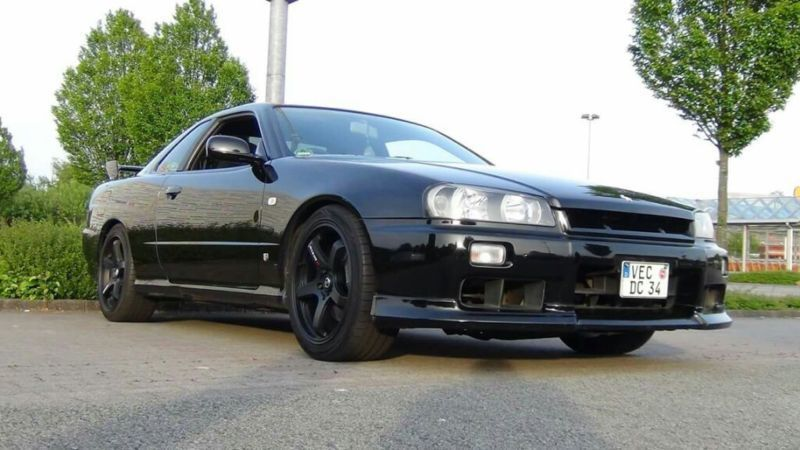 verkauft nissan skyline gebraucht 1998 km in lohne. Black Bedroom Furniture Sets. Home Design Ideas