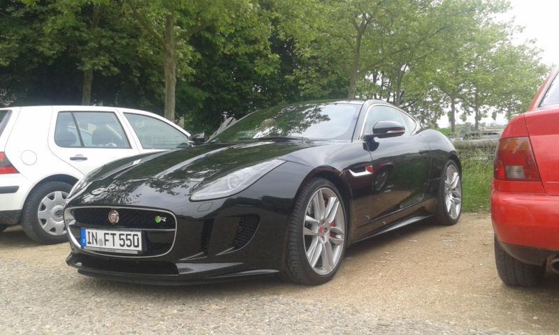 verkauft jaguar f type r coupe aut gebraucht 2014 km in ingolstadt. Black Bedroom Furniture Sets. Home Design Ideas