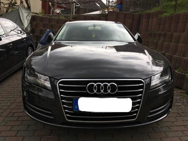 verkauft audi a7 3 0 tdi multitronic gebraucht 2011 km in neidenfels. Black Bedroom Furniture Sets. Home Design Ideas