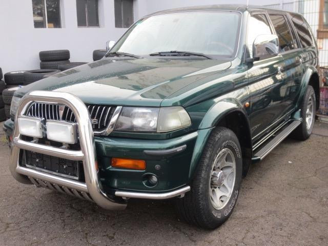 verkauft mitsubishi pajero cabrio 3 0 gebraucht 1999 km in. Black Bedroom Furniture Sets. Home Design Ideas