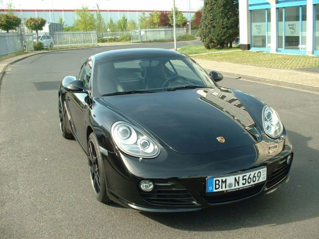verkauft porsche cayman s matt grau gebraucht 2010 km in. Black Bedroom Furniture Sets. Home Design Ideas