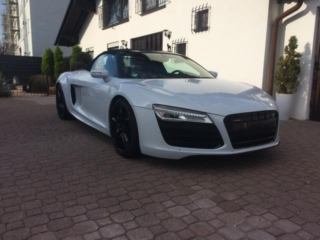 verkauft audi r8 spyder 5 2 fsi quattr gebraucht 2014 km in da. Black Bedroom Furniture Sets. Home Design Ideas