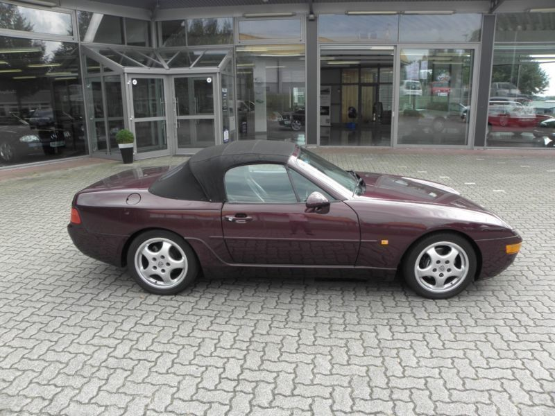 gebraucht cabrio deutsches auto leder schwarz porsche 968 1992 km in hohenwestedt. Black Bedroom Furniture Sets. Home Design Ideas