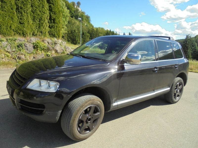 verkauft vw touareg 2 5 r5 tdi expedit gebraucht 2005 km in strassberg. Black Bedroom Furniture Sets. Home Design Ideas