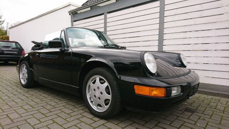 gebraucht cabrio allrad leder klima porsche 964 1990 km in zeven. Black Bedroom Furniture Sets. Home Design Ideas