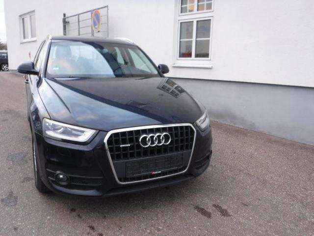 gebraucht 2 0 tdi quattro s tronic audi q3 2012 km in regensburg. Black Bedroom Furniture Sets. Home Design Ideas